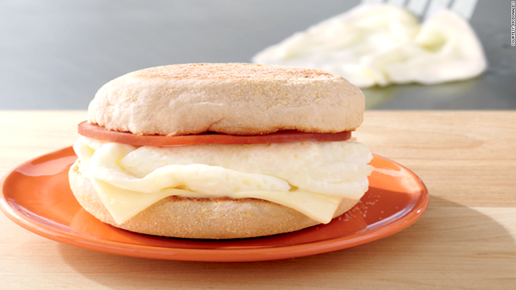 mcdonalds egg white sandwich