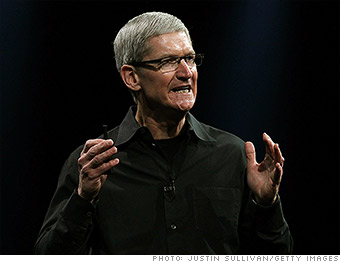 top tech ceos tim cook apple
