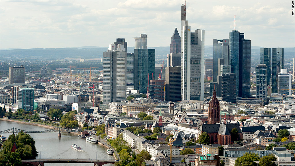 euro banks frankfurt 2