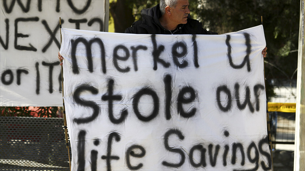 nicosia cyprus protest