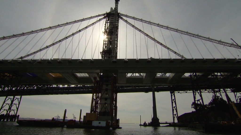 How California built a $6 billion bridge
