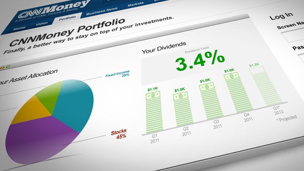 cnnmoney portfolio tool 3
