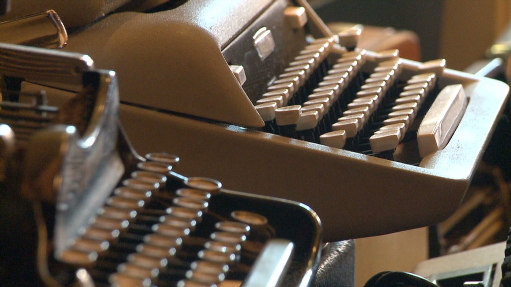 The surprising job of typewriter repairman