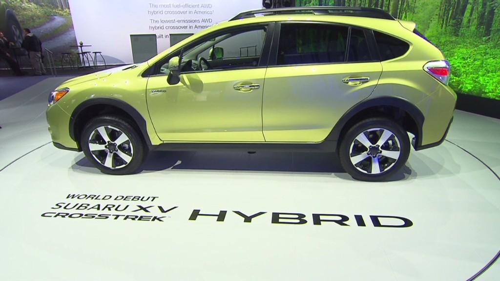 Subaru Crosstrek Hybrid keeps 4WD cred