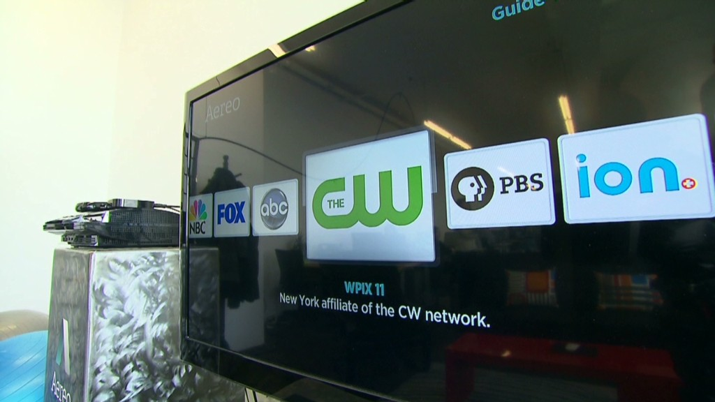 TV streaming startup vs. the networks
