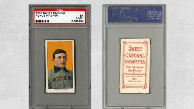Bids For Holy Grail Of Baseball Cards Hit 16 Million