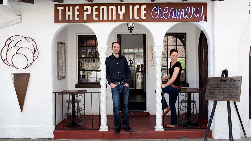 penny ice creamery zachary davis kendra baker