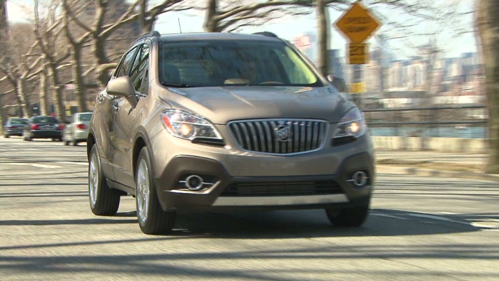Buick Encore: An oddball SUV