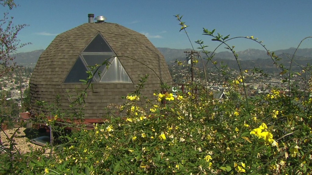 Life inside a 'dome' home