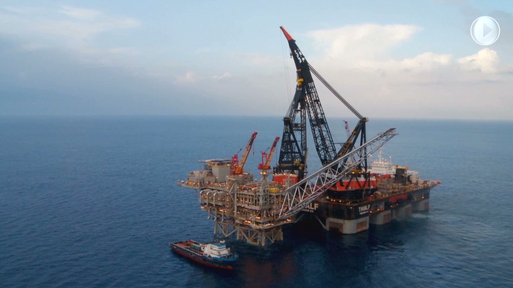Israel's play for energy independence