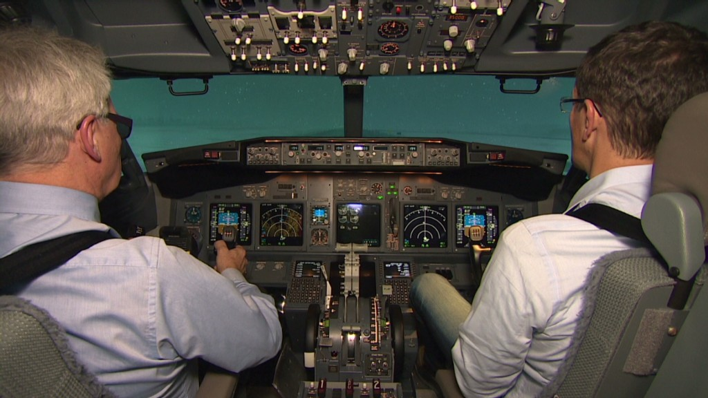 Inside a turbulence simulator