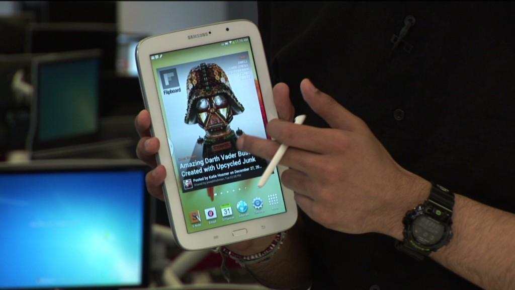 How Galaxy Note 8 stacks up to iPad Mini