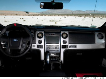 shelby raptor dashboard