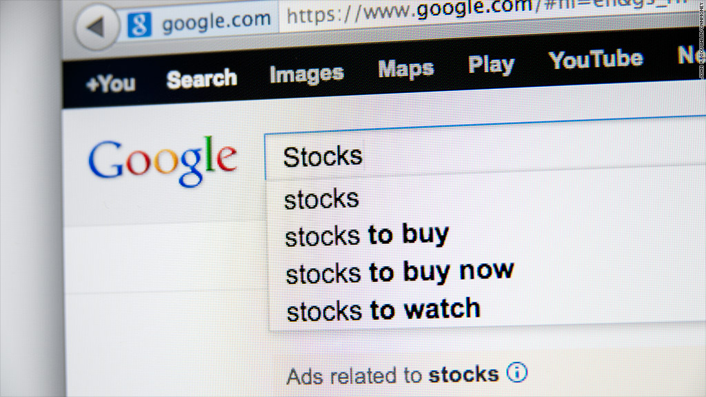 Google can help you time the market