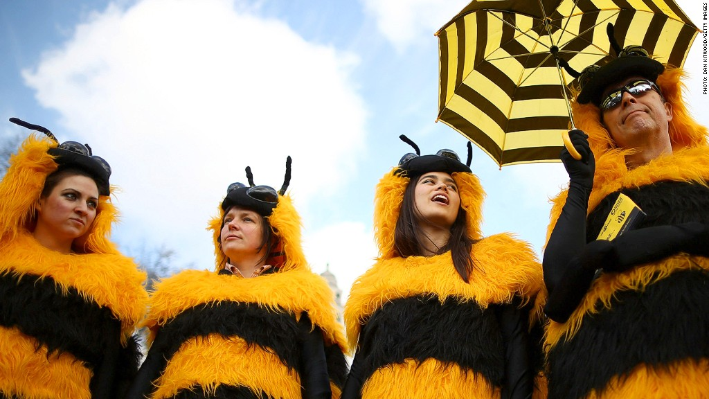 bee protest uk