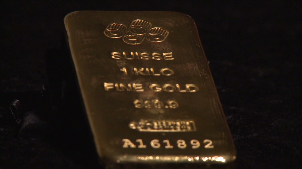Gold pops due to weak dollar