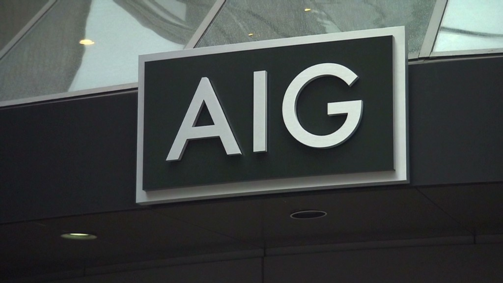 The AIG bailout worked