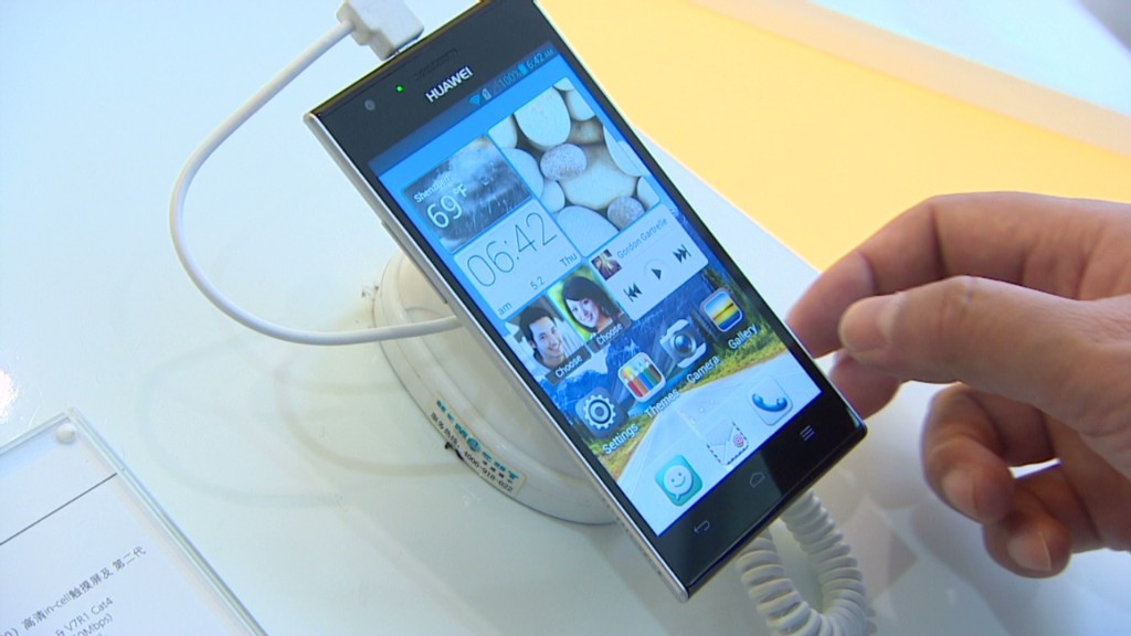 Hands on with Huawei's many phones