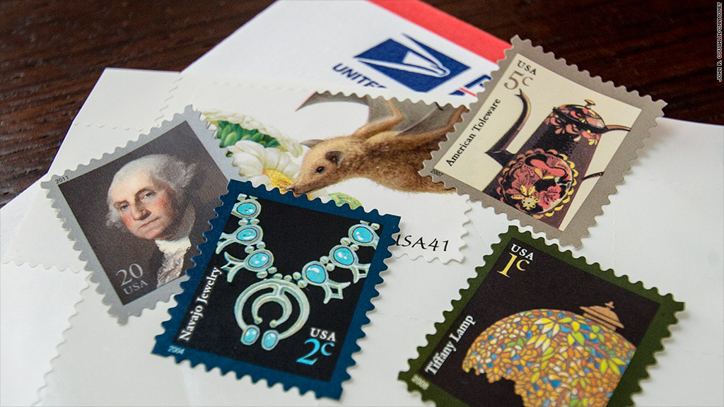 usps stamps rate hike