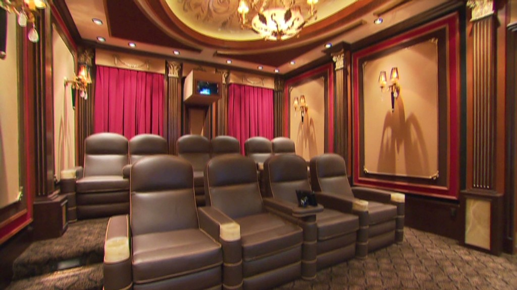 Look inside millionaires' home theaters