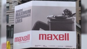 Remember Maxell's 'Blown Away Guy'?