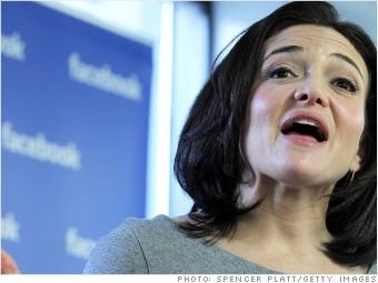 facebook now sheryl sandberg stock
