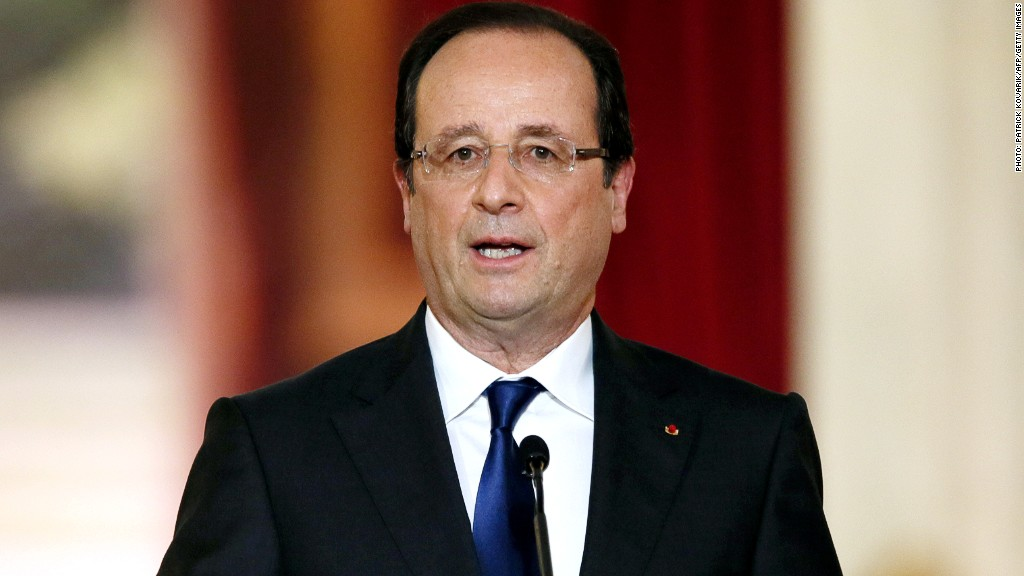 francois hollande recession