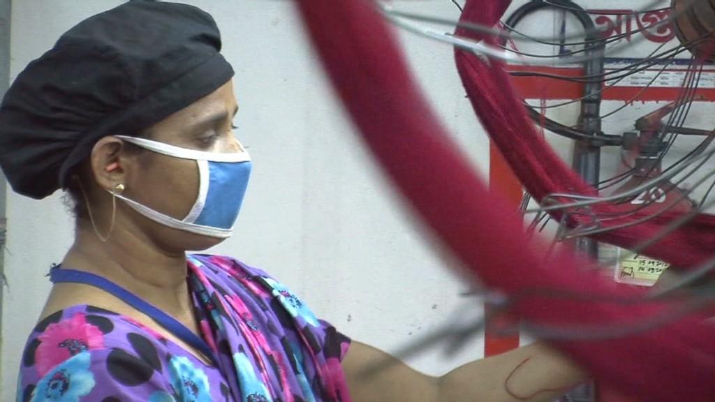 Go inside a Bangladeshi garment factory