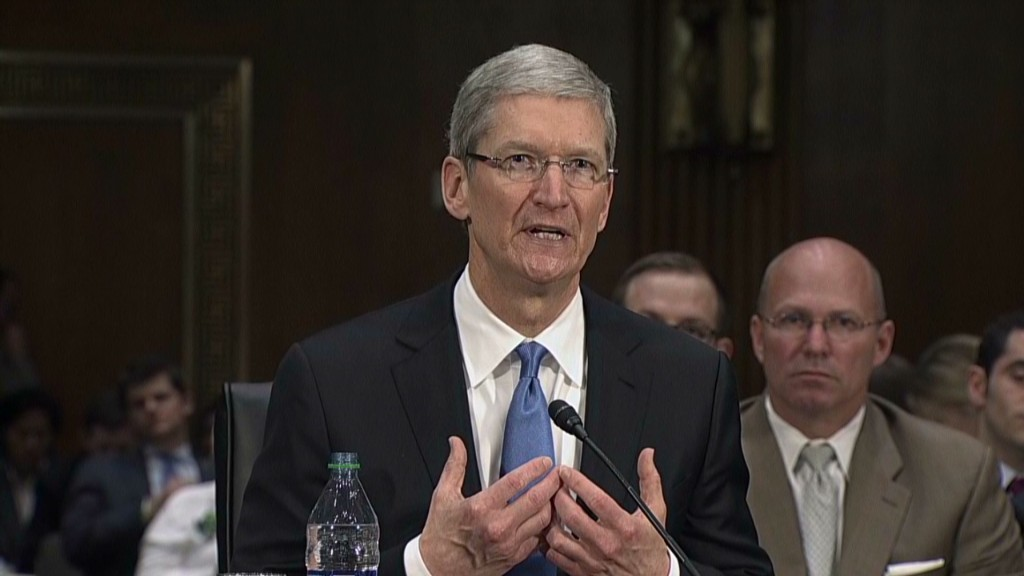 Apple CEO Cook: 'I'm not an unfair person'