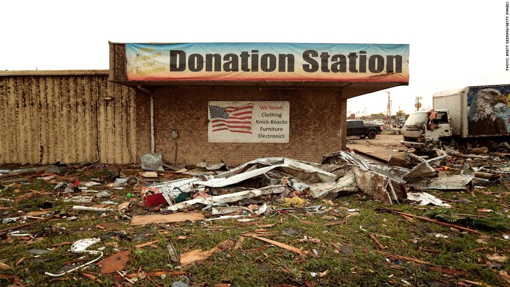 donation tornado relief