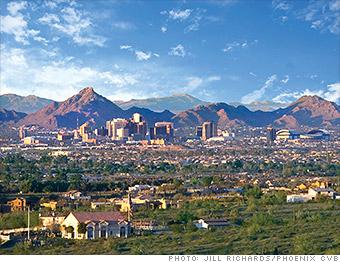 ten fastest growing cities phoenix