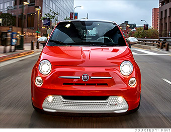 fiat 500e tesla alternatives four cheap electric cars. Black Bedroom Furniture Sets. Home Design Ideas