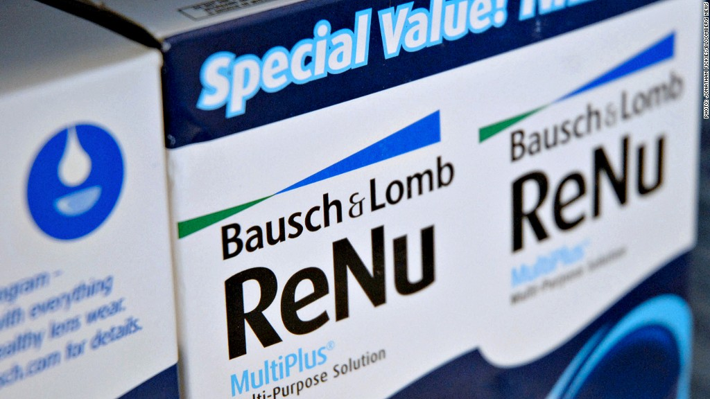 bausch lomb valeant