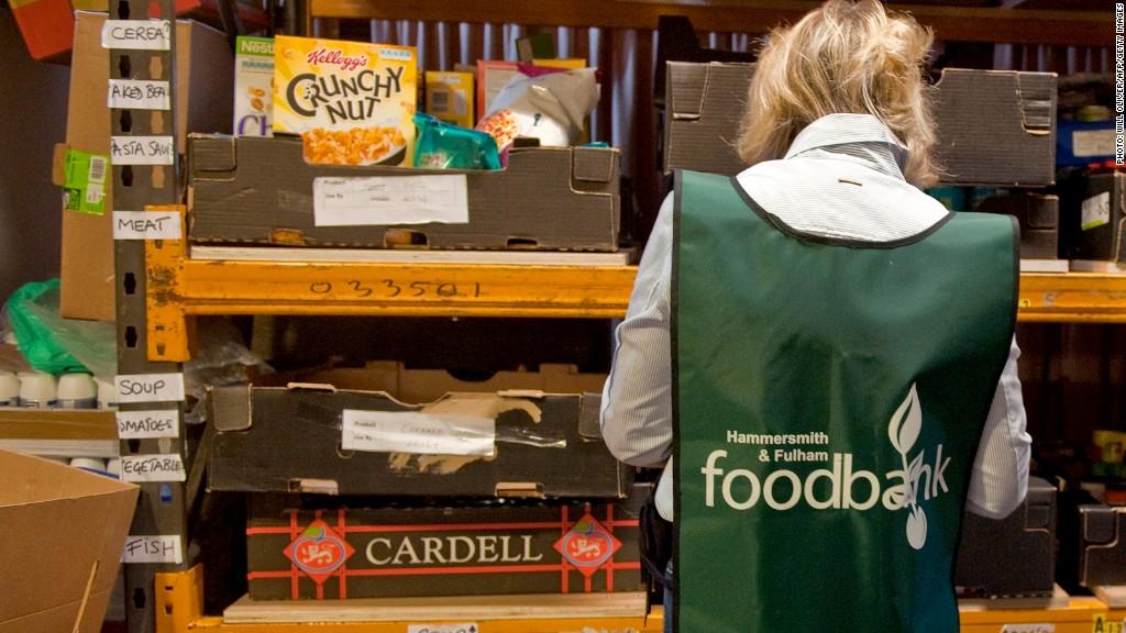 uk food handouts