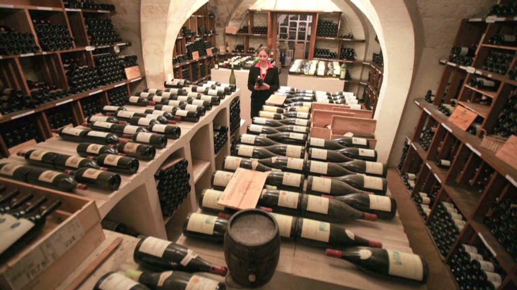 France's Presidential wine up for auction