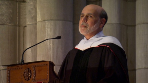 Bernanke's 10 hilarious tips for Princeton grads