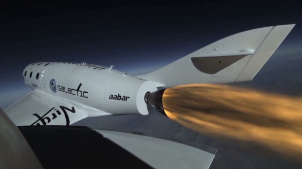 Commercial space transport only a year away