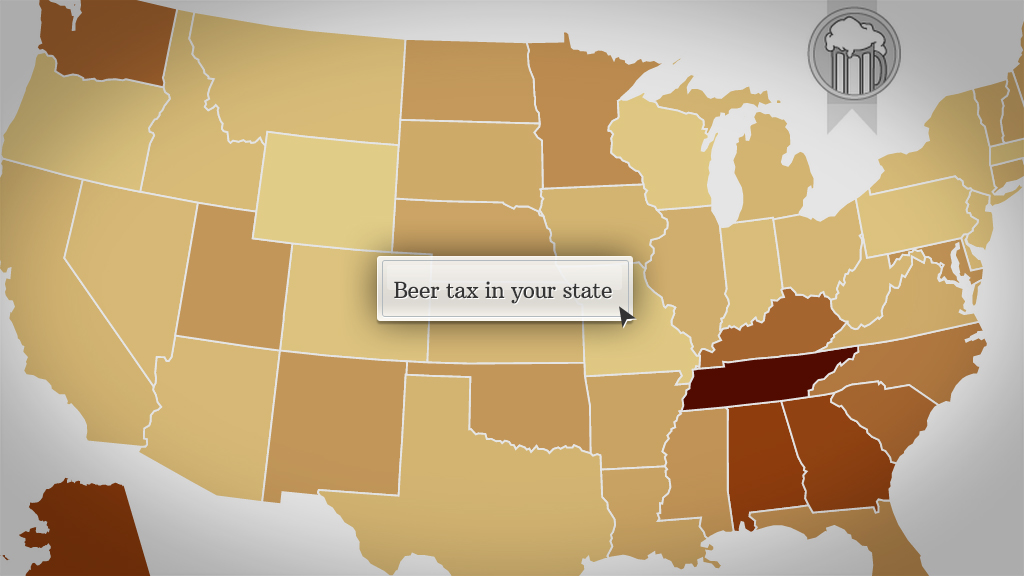 Beer tax in your state