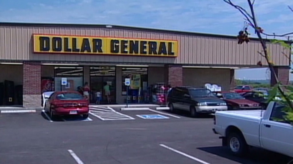 The weak dollar: Dollar General sinks