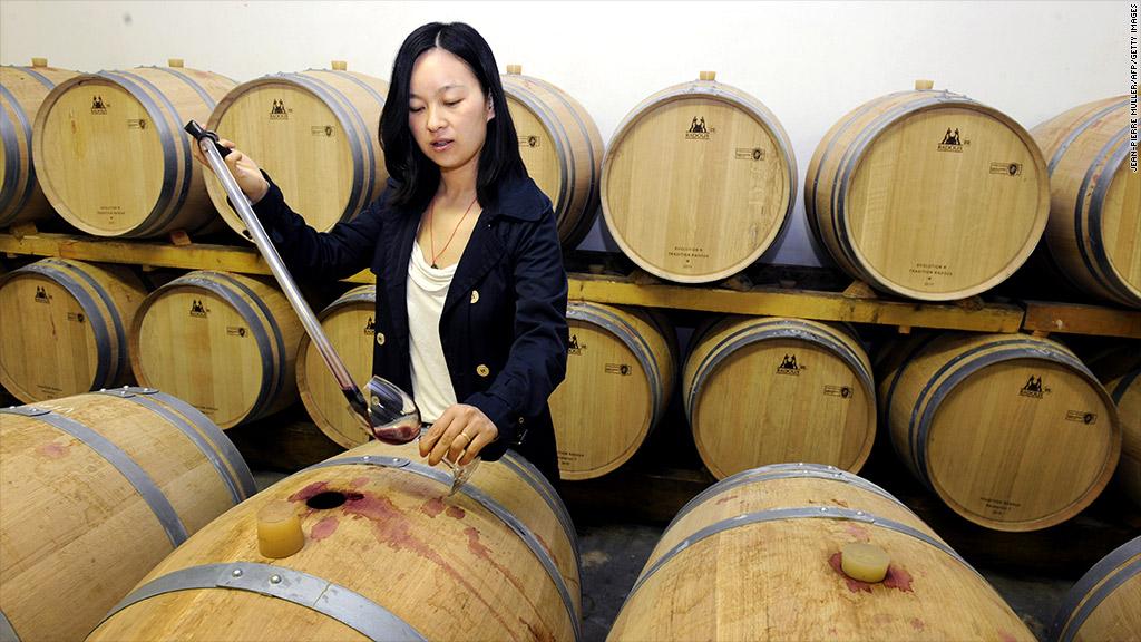 france china wine