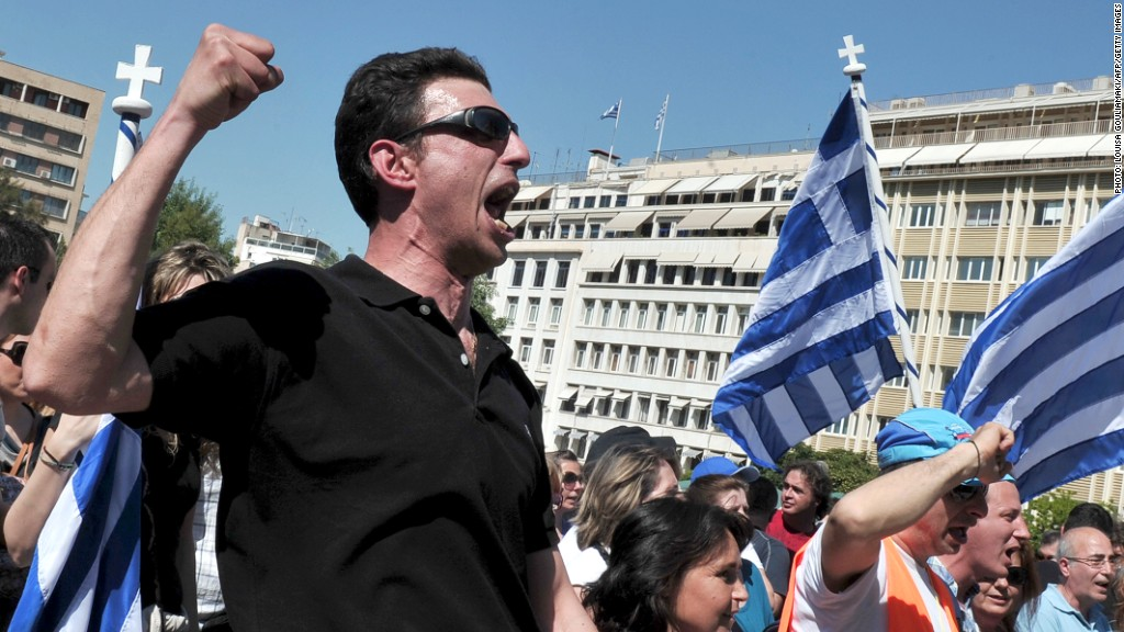 greece imf protests
