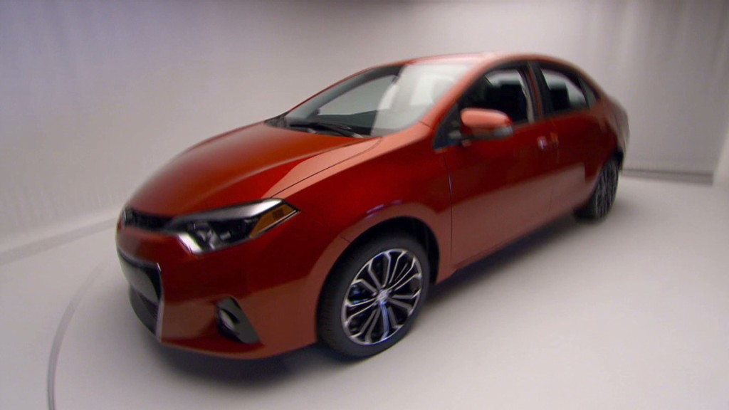 Toyota's brand new Corolla
