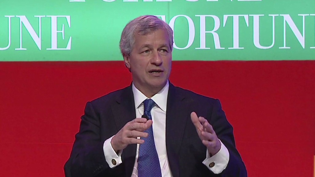 Dimon: Road back to normal 'scary'
