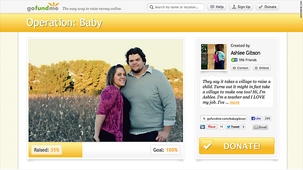 crowdfunding raises thousands for adoptions fertility treatments
