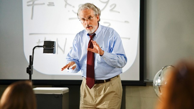Professors teach into their golden years
