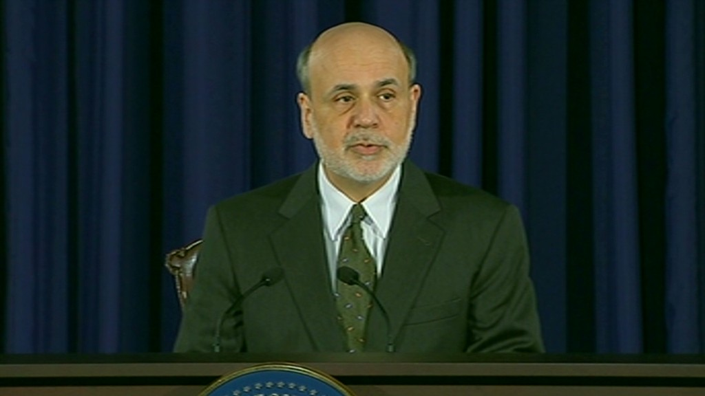 Bernanke on stimulus in 90 seconds