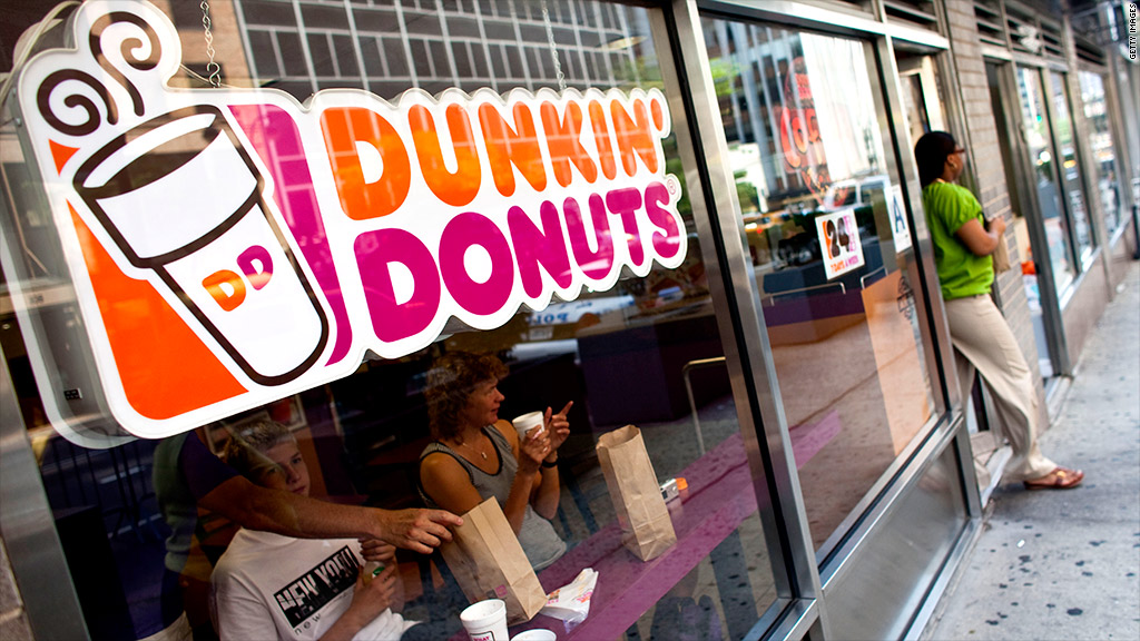 dunkin donuts gluten free