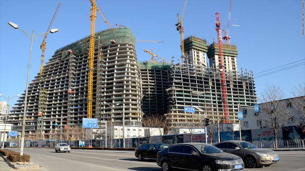 china real estate construction