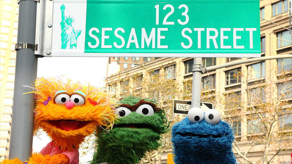 sesame street jobs