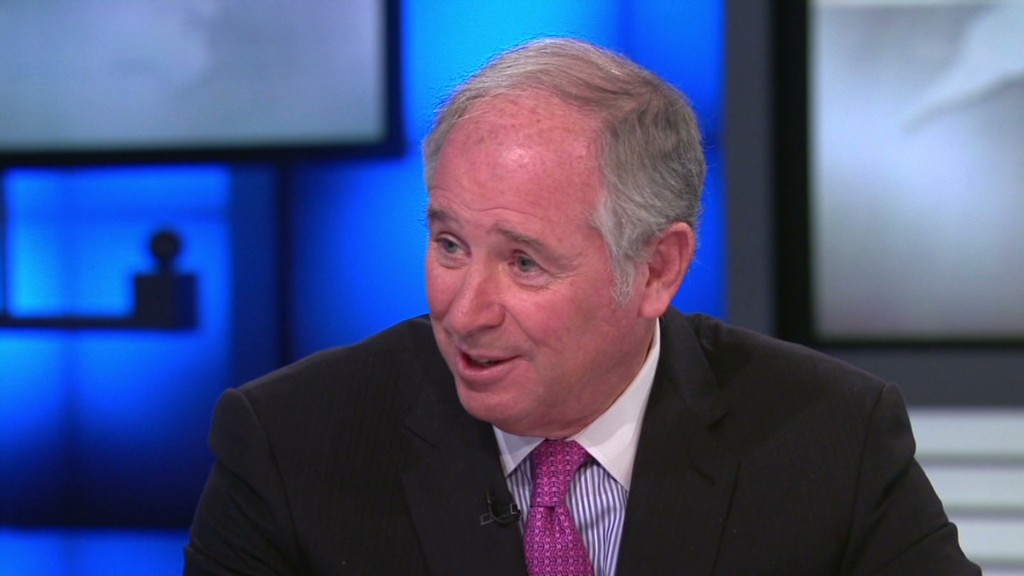 Schwarzman: Economic recovery is real